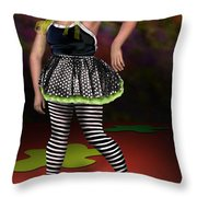 Courtney 1 Throw Pillow by Reggie Duffie