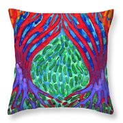 Courtships Throw Pillow