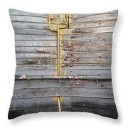 Courtyard. 2015 Throw Pillow