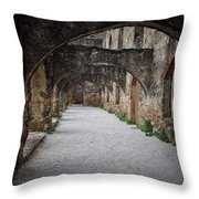 Courtyard Archway Throw Pillow