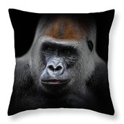 Cousin, No. 43 Throw Pillow