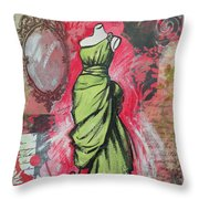 Couture II Throw Pillow