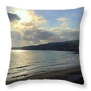 Cove Sunlight Throw Pillow