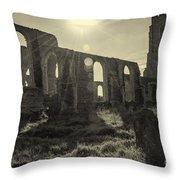 Covehithe Abbey Throw Pillow