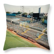 Coventry City - Highfield Road - East Stand Swan Lane 2 - August 1991 Throw Pillow