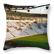 Coventry City - Highfield Road - East Stand Swan Lane 3 - October 1994 Throw Pillow