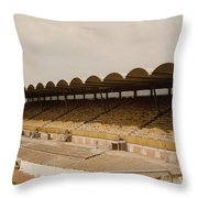 Coventry City - Highfield Road - North Side Thackhall Street Stand 1 - May 1969 Throw Pillow