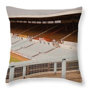 Coventry City - Highfield Road - North Side Thackhall Street Stand 2 - September 1969 Throw Pillow