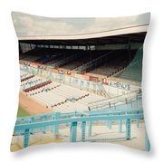 Coventry City - Highfield Road - North Side Thackhall Street Stand 3 - August 1991 Throw Pillow