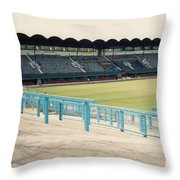 Coventry City - Highfield Road - South Side Main Stand 2 - August 1991 Throw Pillow