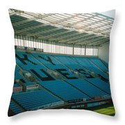Coventry City - Ricoh Arena - South Stand 1 - July 2006 Throw Pillow