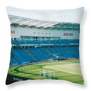 Coventry City - Ricoh Arena - West Stand 1 - July 2006 Throw Pillow