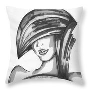 Cover Face Throw Pillow
