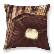 Covered Bridge Vermont Throw Pillow