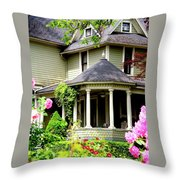Covered Porch Throw Pillow