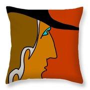 Cowboy Throw Pillow