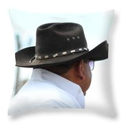 Cowboy Reflections Throw Pillow