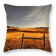 Cowboy Trail Throw Pillow