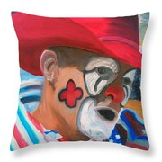 Cowboys Angel Throw Pillow