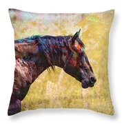 Cowgirl Dreamin Throw Pillow