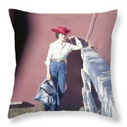 Cowgirl Mama Throw Pillow