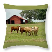 Cows8954 Throw Pillow