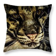 Coy Throw Pillow