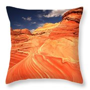 Coyote Buttes Sandstone Towers Throw Pillow