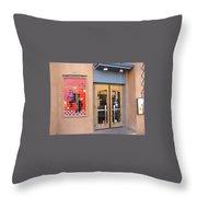 Coyote Cafe Santa Fe Throw Pillow
