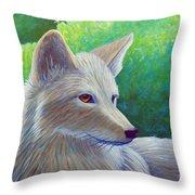 Coyote Charisma Throw Pillow