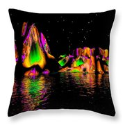 Coyote Moon- Throw Pillow