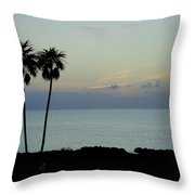 Cozumel Twins Throw Pillow