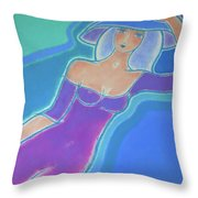 Cozy At Home Throw Pillow by Mary Maki Rae