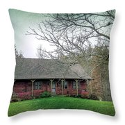 Cozy Comfy And Cute Throw Pillow