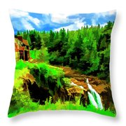 Cozy Hotel Throw Pillow