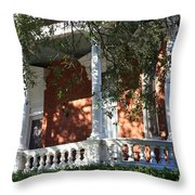 Cozy Savannah Porch Throw Pillow