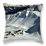 Cpr Ridge Extreme Terrain Throw Pillow