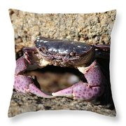 Crab 2  Throw Pillow