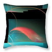 Crab Claw Throw Pillow