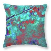 Crabapples Series #4 30 Throw Pillow