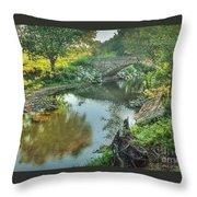 Stewart  Bridge Throw Pillow