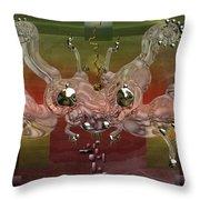 Crabba Throw Pillow