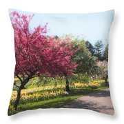 Crabtree Allee II Throw Pillow