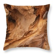 Crack Canyon Throw Pillow