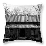 Cracker Cabin Throw Pillow