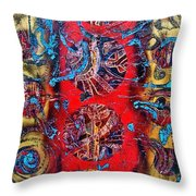 Cracking The Code Of The Universe Throw Pillow