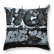 Crackit Throw Pillow