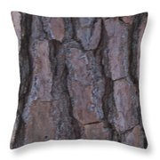 Cracks Of Time Throw Pillow