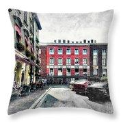 Cracow Art 4 Kazimierz Throw Pillow