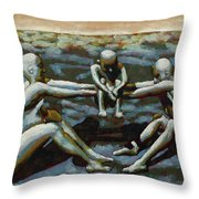 Cradle Throw Pillow